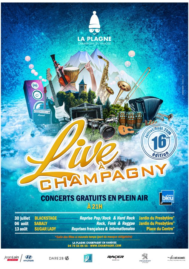 Live in Champagny