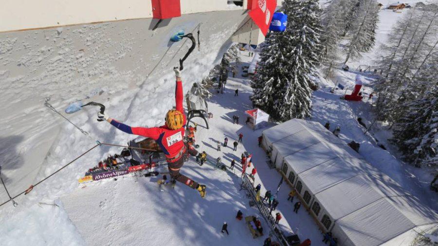 Ice climbing world cup