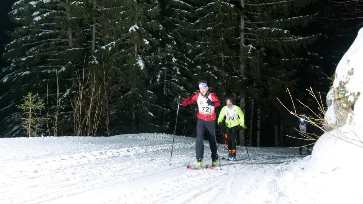 La Montée des Raveillus – Ski touring race 26th January 2021