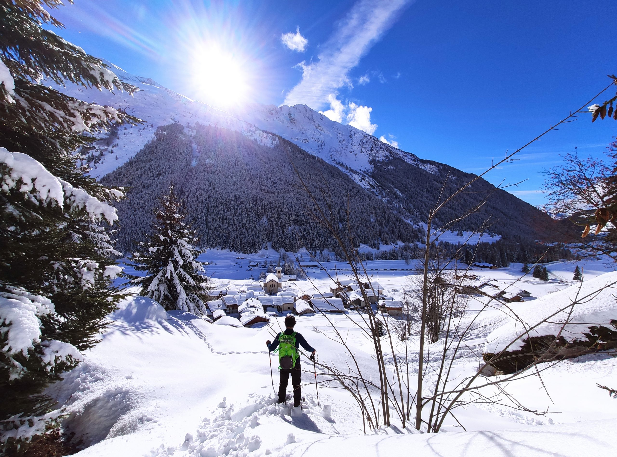 Champagny-en-Vanoise: a paradise of Nordic activities